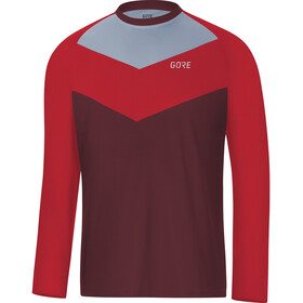 GORE WEAR C5 Trail Long Sleeve Jersey Men chestnut red
